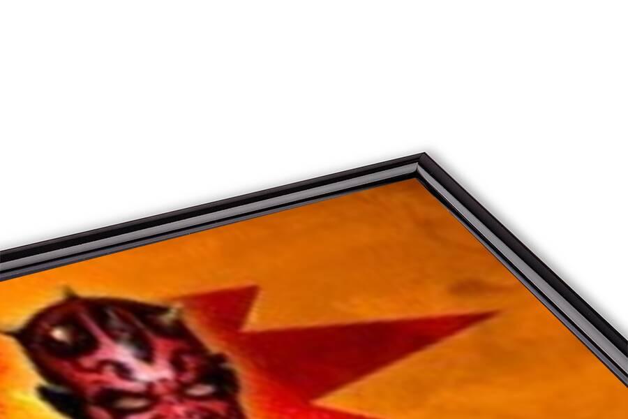 STAR WARS - darth maul Poster 3D