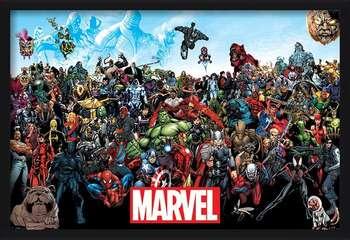 Marvel - Universe Poster înrămat
