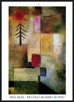 P.Klee - Piccolo Quadro Di Pino Poster înrămat