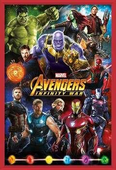 Avengers: Infinity War – Characters Poster înrămat