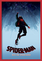 Spider-Man: Into The Spider-Verse – Fall Poster înrămat