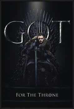 Game of Thrones - Jon For The Throne Poster înrămat
