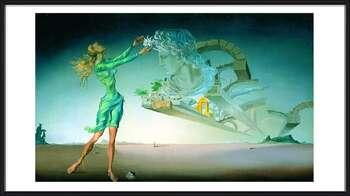 Salvador Dalí – Mirage Poster înrămat