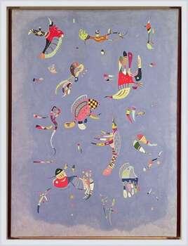 Wassily Kandinsky - Sky Blue Poster înrămat