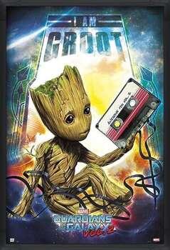Poster înrămat Guardians Of The Galaxy Vol 2 - Groot