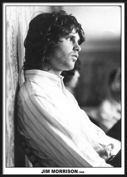 Poster înrămat Jim Morrison - The Doors 1968
