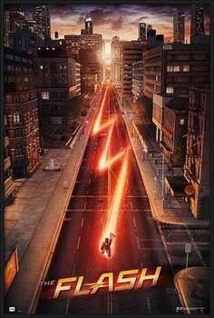 Poster înrămat The Flash - One Sheet