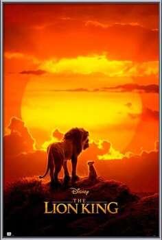 Poster înrămat The Lion King - One Sheet