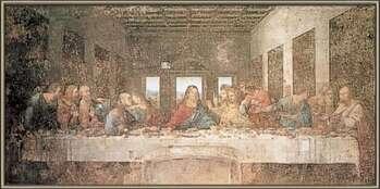 Poster înrămat The Last Supper