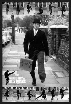 Poster înrămat Monty Python - the ministry of silly walks