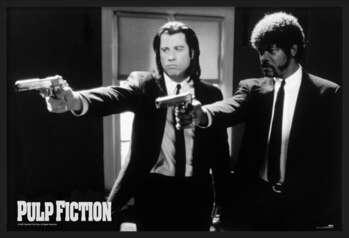 Poster înrămat Pulp fiction - guns