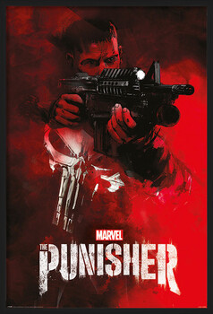 Poster înrămat The Punisher - Aim