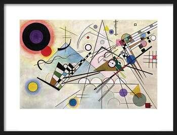 Poster înrămat Wassily Kandinsky - Composition VIII