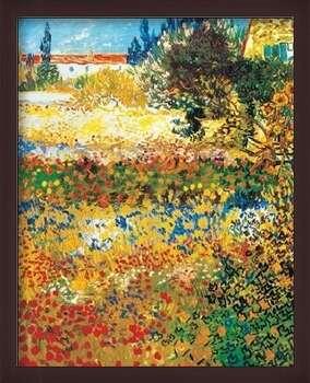 Poster înrămat Flowering garden, 1898