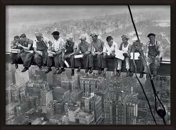 Poster înrămat Lunch on a skyscraper