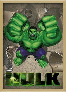 HULK - rage Poster