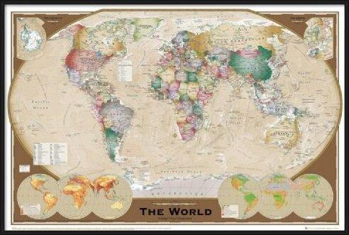 Harta Lumii Poster