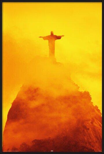 Rio de Janeiro - christ the redeemer Poster