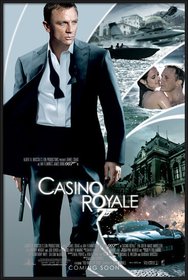 JAMES BOND 007 - casino royale iris Poster