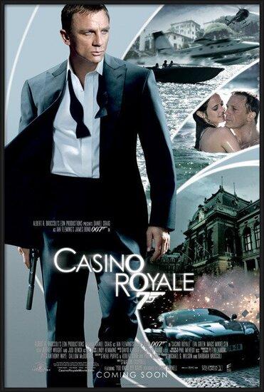 JAMES BOND 007 - casino royale iris Poster
