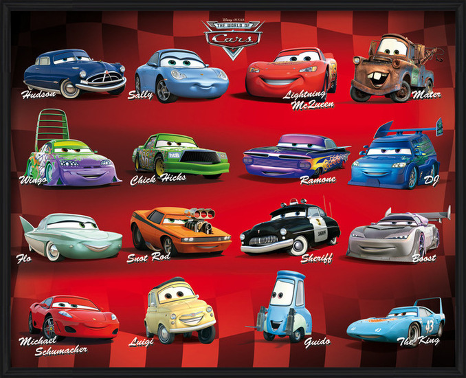 CARS - compilation Poster