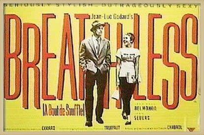 BREATHLESS - A bout de souffle Poster