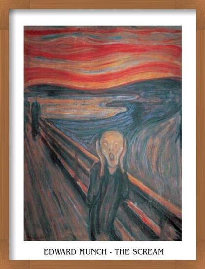 The Scream, 1893 Reproducere