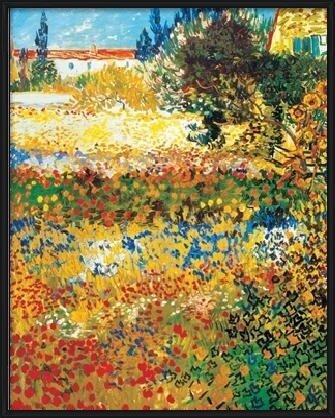 Flowering garden, 1898 Reproducere