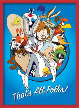 LOONEY TUNES – thats all folks Poster