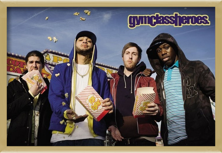 Gym Class heroes - popcorn Poster