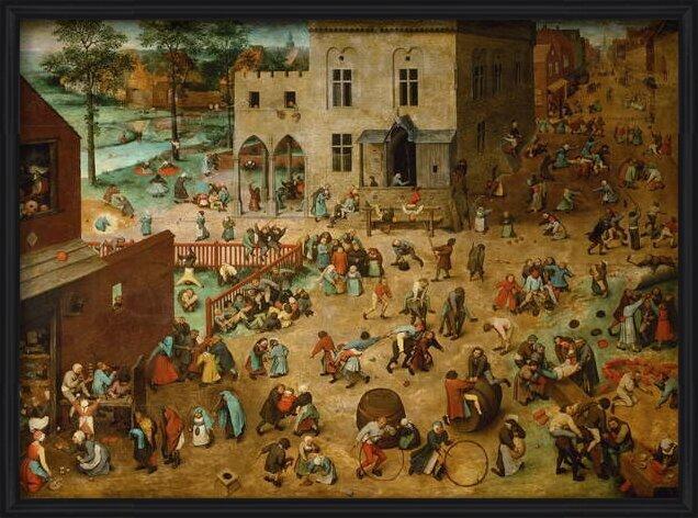 Children's Games, 1560 Reproducere