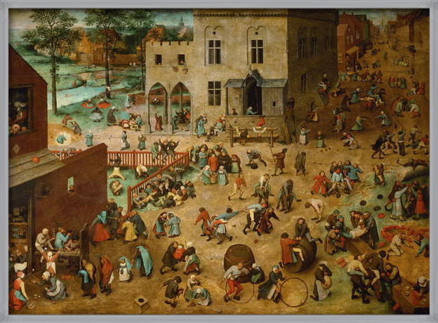 Children's Games, 1560 Reproducere