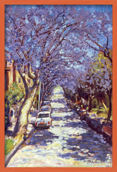 North Sydney Jacaranda, 1990 Reproducere