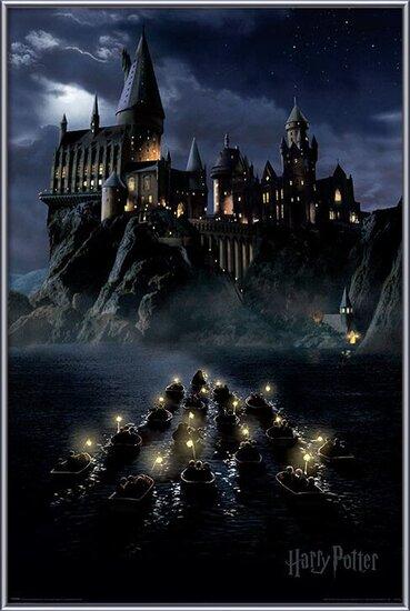 Harry Potter - Hogwarts Boats Poster