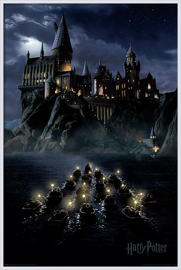 Harry Potter - Hogwarts Boats Poster