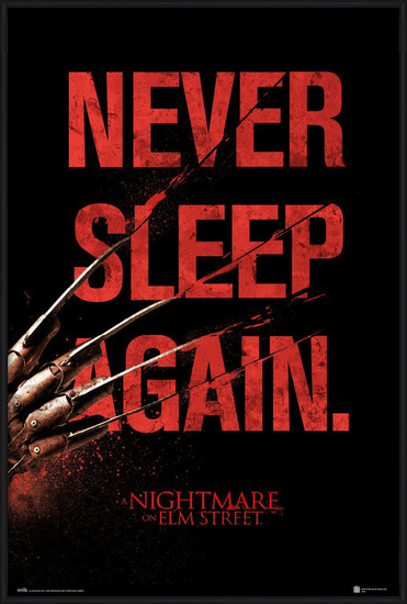 Nightmare On Elm Street - Never Sleep Again Poster