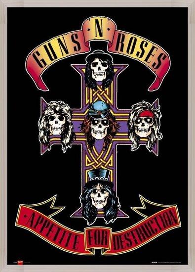 Guns'n'Roses - appetite Poster
