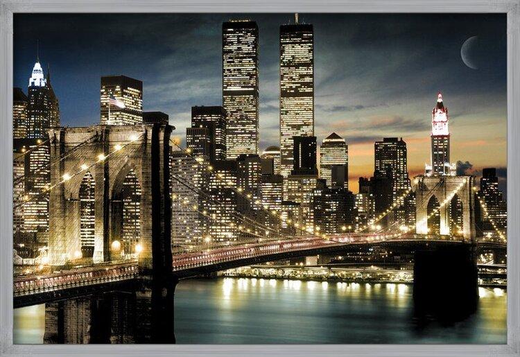 Manhattan - lights Poster
